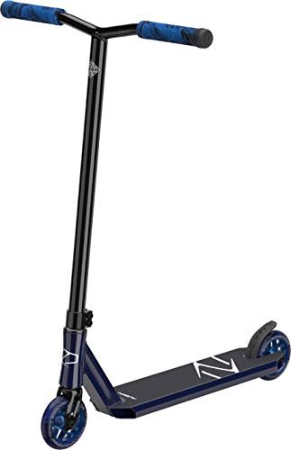 Fuzion Z250 Pro Scooters - Trick Scooter - Intermediate and Beginner Stunt Scooters for Kids 8 Years and Up, Teens and Adults – Durable, Smooth, Freestyle Kick Scooter for Boys and Girls (Blue)