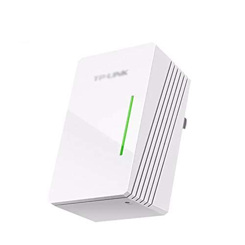 Repetidor de WiFi inalámbrico, amplificador de señal de antena de red de red de 350 mbps de gama WiFi Amplificador de señal 802.11N / B / G con 2 antenas internas, diseño de enchufe de pared,,White