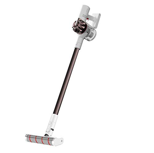 Dreamee Handheld Akku-Staubsauger XR 145AW Leistungsstarker Motor Langlebige Akkulaufzeit Leises ergonomisches Design Geeignet für Holz/Fliesen/Teppiche/Bett/Möbel/Automobile