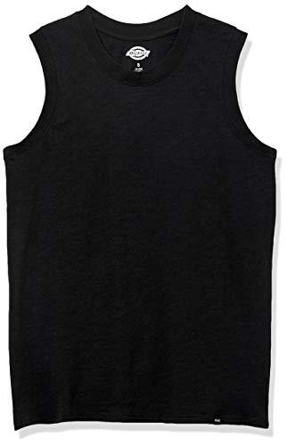 Dickies Damen Muscle Tank Arbeits-T-Shirt, schwarz, X-Groß