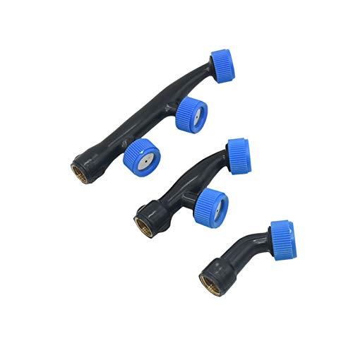 Conectores de manguera 1/2/3 Hole Garden Sprayer Boquilla Masculino 1/2'Boquilla de rociadora 1/4' Mujer Atomizante Boquilla de Spray Agricultura 1pc (Color : 1I4 x 2 hole)