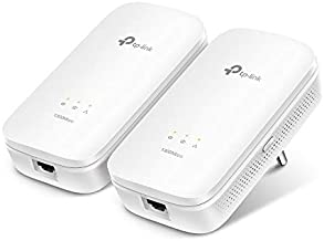 TP-Link AV1200 Powerline Ethernet Adapter - Gigabit Port, Plug&Play, Power Saving(TL-PA8010 KIT)