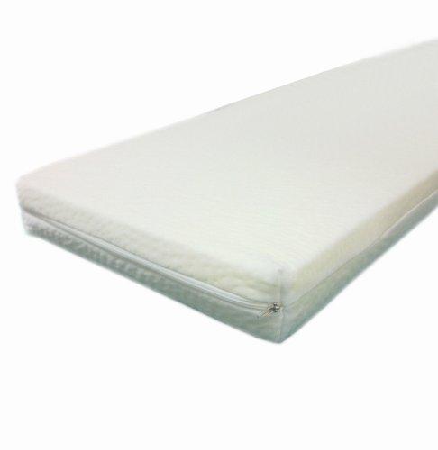 Dibapur –80cm x 190cm x 3cm Viscoelástica colchón Topper visco...