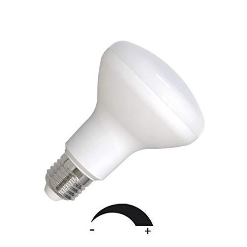 Dimmbare 9 Watt LED Lampe, Strahler, Spot, Fassung E27 / R80 Retrofit - warmweiß 2700K - 120° Ausstrahlwinkel - 850 Lumen entspricht ca. 75 Watt Glühlampe.