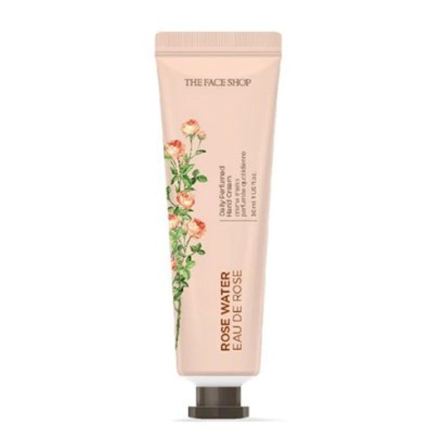 前者所属脳[1+1] THE FACE SHOP Daily Perfume Hand Cream [01.Rose Water] ザフェイスショップ デイリーパフュームハンドクリーム [01.ローズウォーター] [new] [並行輸入品]