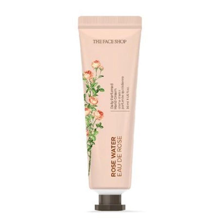 認識施し重大[1+1] THE FACE SHOP Daily Perfume Hand Cream [01.Rose Water] ザフェイスショップ デイリーパフュームハンドクリーム [01.ローズウォーター] [new] [並行輸入品]