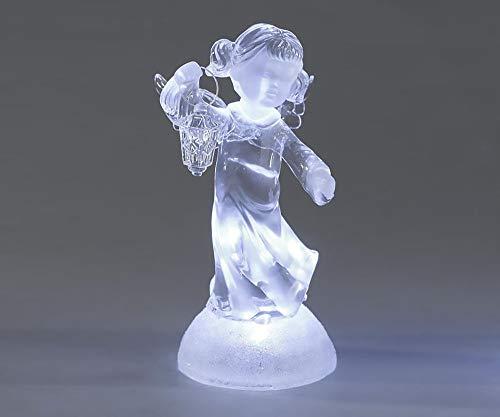 Formano Engel Mädchen mit Laterne Acryl mit Licht 678812