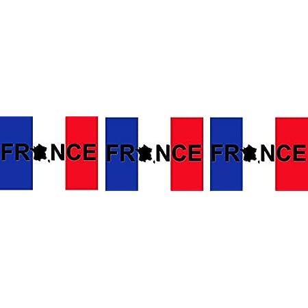 Etaia 2 5x4 Cm 3x Mini Aufkleber Fahne Flagge Von Frankreich France Schriftzug Kleine Europa Länder Sticker Auto Fahrrad Motorrad Bike Auto