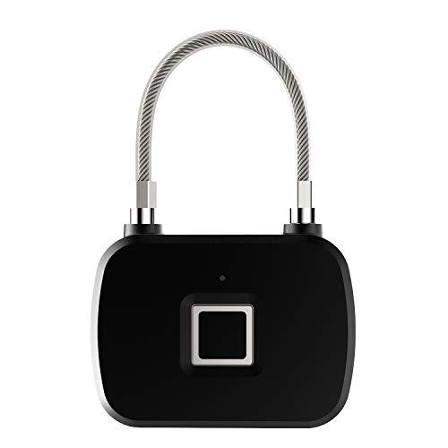 Fingerabdruck-Vorhängeschloss, Gepäckschloss, intelligentes biometrisches Schloss, tragbares Sicherheitsschloss, Diebstahlschutz-Vorhängeschloss