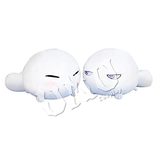 【UMU】 不機嫌なモノノケ庵 モジャ 約19cm*35cm*22cm 風 ぬいぐるみ コスプレ道具 おもちゃ 抱き枕 (うれしい)