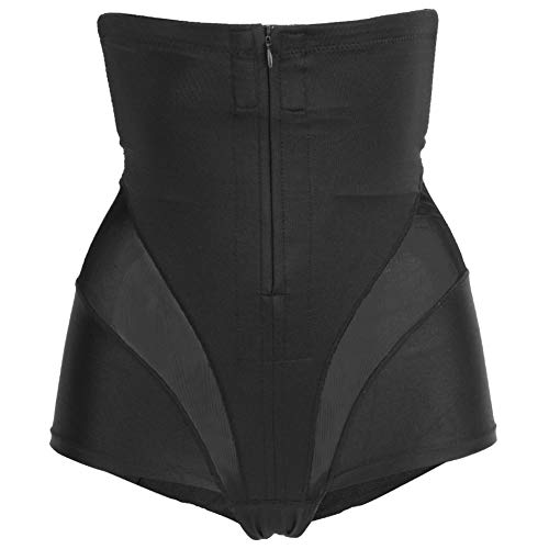 Zyyini Shapewear für Frauen, 3D Tailoring Breasted und Zippers Design Postpartum Pants Passt eng an die Haut an und hilft dabei, Körperkurven neu zu Formen(XL)