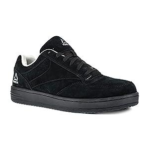 Reebok Work Men's Soyay RB1910 Safety Shoe,Black Oxford,8.5 W US
