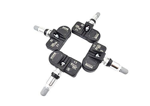 06-10 Grand Voyager 07-11 Sebring preprogramado para Chrysler- 300C 433 MHz More MOBILETRON Sensor TPMS - AZ-S045CHR-4 Sensor de Control de presi/ón de neum/áticos con Abrazadera 05-11