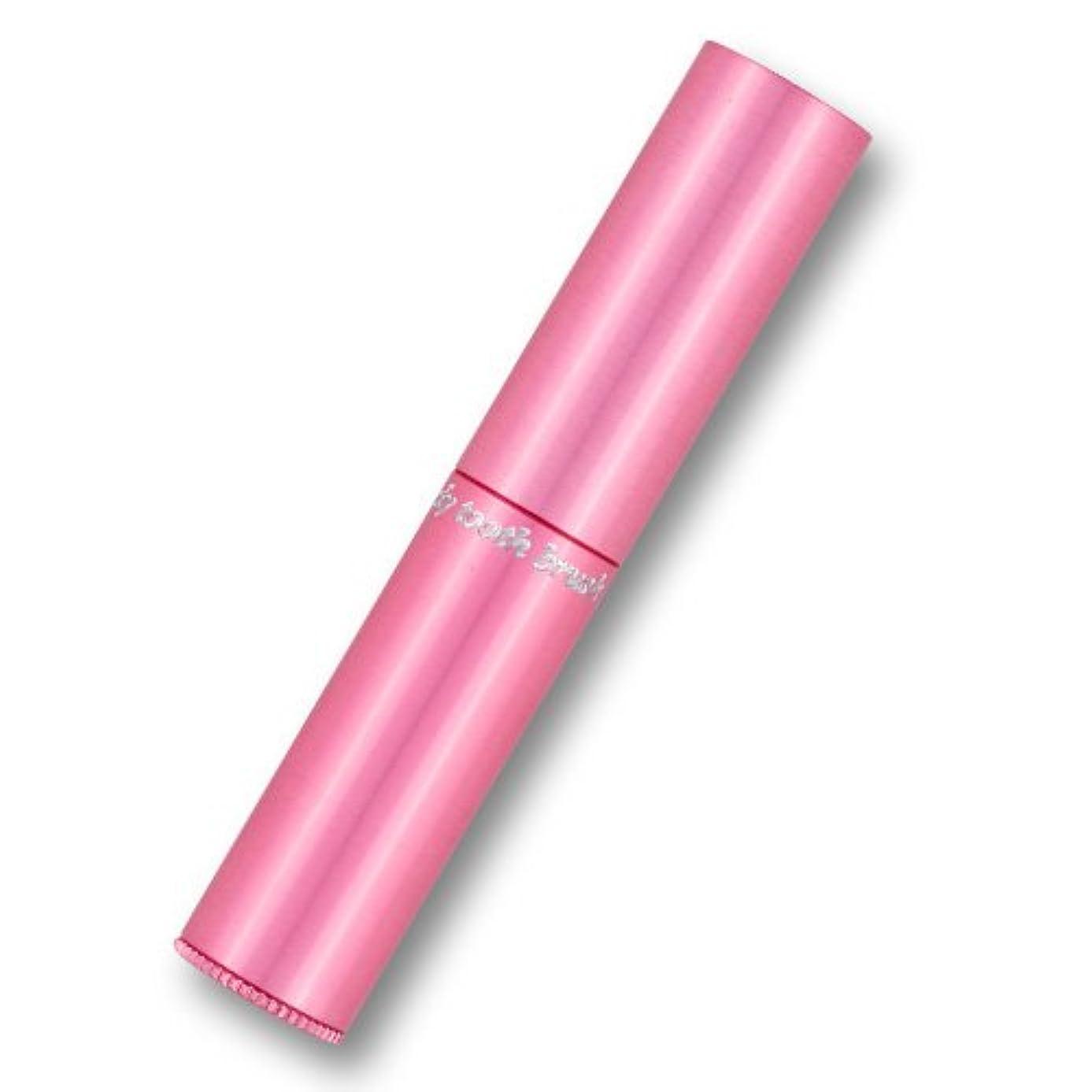 練る現実には散らす携帯歯ブラシ?タベタラmigaCO(ピンク)