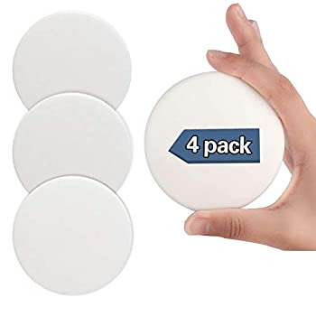 Door Stopper Wall Protector 4 PCS 3.15  Larger Silicone Door Handle Bumper Wall Protectors with Self Adhesive 3M Sticker for Protecting Wall