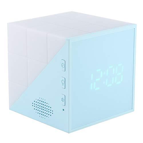 Reloj despertador digital con luz nocturna para niños, reloj despertador LED compatible...