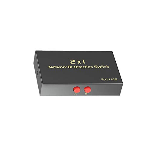 RJ45 Network Switch Selector 2x1...