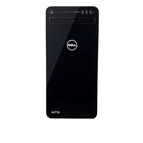 Dell XPS 8930 Tower Desktop - 8th Gen. Intel Core i7-8700 6-Core up to 4.60 GHz, 32GB DDR4 Memory, 512GB SSD + 2TB SATA Hard Drive, 4GB Nvidia GeForce GTX 1050Ti, Windows 10 Pro, Black