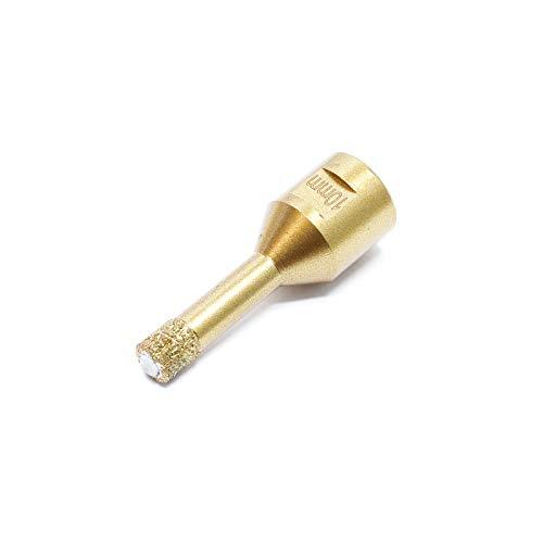 WilTec Scie Cloche Diamant Forage de Verre Perçage de carrelage Pierre Scie Trépan à Sec Diamètre : 10mm