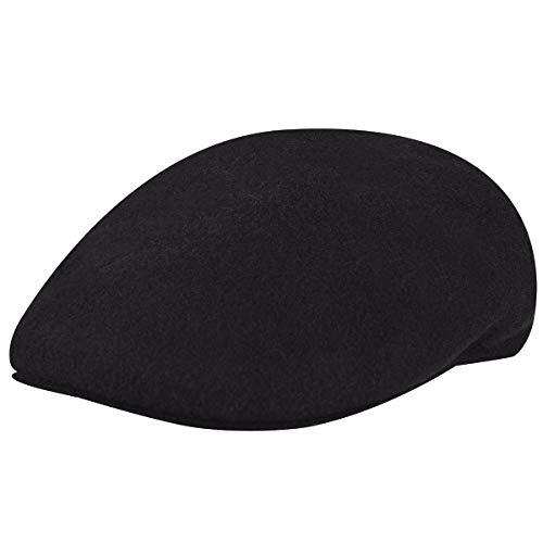 Kangol Herren Wool 504 Mütze, schwarz, (Herstellergröße: Medium)