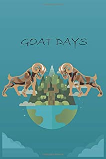 To do journal: goat days: Journal daily checkpoint for daily tasks and staying on way