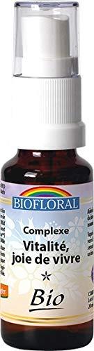 Biofloral - Elixir floral du docteur bach complexe n°2 vitalite et joie de vivre - vaporisateur élix