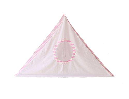 HWZPPP KJZhu Tenture Murale Tente, Bébé Intérieur Tente Jeu Maison Enfant Play House Coton Lecture Coin Ménage Jouet Chambre 100 * 50 * 60 CM Multifonction (Couleur : Pink)