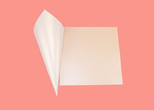 50pz Coni di carta perlata lucida 250gr misura 15 * 15 cm Materiale FAI DA TE DIY Portariso Portaconfetti bomboniera (bianco ghiaccio)