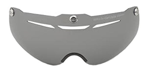 Giro Fahrradhelm Air Attack Eye Shield Visier, silberner Blitz