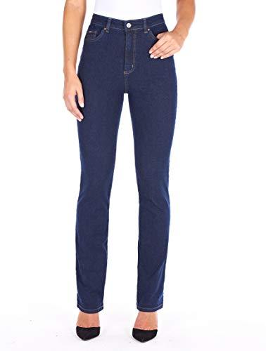 FDJ French Dressing Women s Suzanne Straight Fit Straight Leg Jeans,True Rinse Classic Denim, 2 - Petite