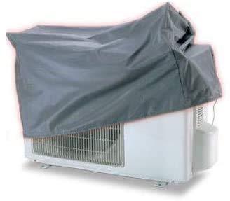 SUPERSAMASTORE Telo cappottina Copri climatizzatore Mono e Dual Split – L.850 x P.340 x H.680