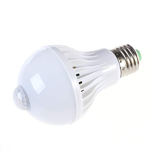 Preisvergleich Produktbild OSALADI Weißes Licht LED Birne Energieeinsparung Notlicht Haushalt Lampen Körper Sensor Lampe