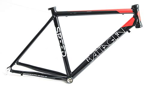 Battaglin Speed 700c 57cm Aluminum Road Bike Frame Black/Red New