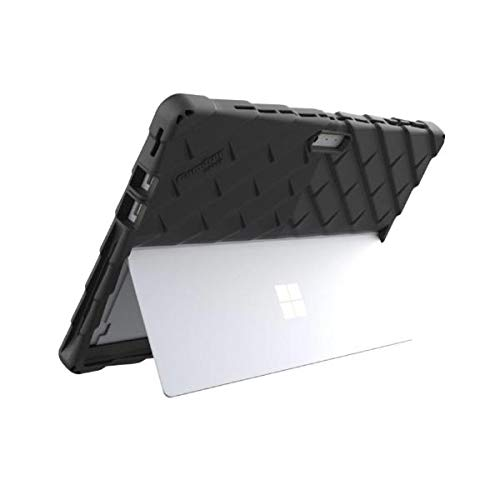 Gumdrop DropTech Case for Microsoft Surface Pro 7 and Pro 6, 2-in-1 Laptop for Office, Business - Black, Shock Absorbing Protection, Extreme Drop Protection