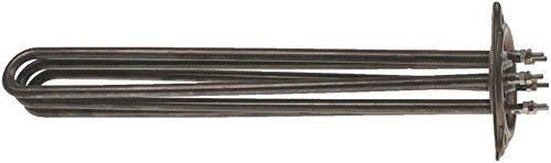 Radiator 6000 W 230 V lengte 339 mm breedte 36 mm 3 verwarmingscirkels hoogte 42 mm