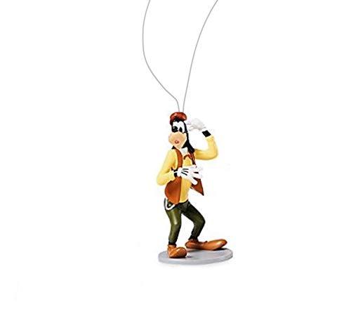 "Disney Mickey Mouse Bell Hop Goofy 4"" Custom PVC Holiday Christmas Tree Ornament Figure Figurine"