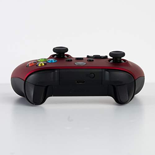 Microsoft Controlador inalámbrico Bluetooth Xbox One S para Xbox Una Costumbre Soft Touch Rojo