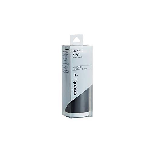"Cricut Joy Smart Vinyl - Permanent - 5.5"" x 48"", Adhesive Decal Roll - Black |"