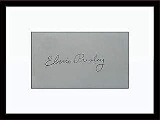 elvis presley authentic autograph