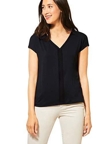 Street One Damen 315003 T-Shirt, Black, 44