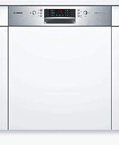 Bosch SMI46MS04E Serie 4 Geschirrspüler Teilintegriert / A++ / 60 cm / Edelstahl / 266 kWh/Jahr / 14 MGD / SuperSilence / Extra Trocknen / VarioSchublade