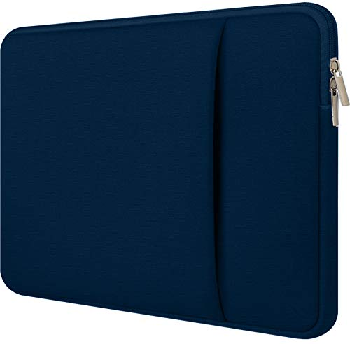 Laptop Sleeve 15.6 inch Case,Upgraded Durable Environmental-Friendly Case,Polyester Vertical Case Cover Business Briefcase with Pocket for MacBook, Acer Aspire,ASUS P-Series, Chromebook Notebook,Blue