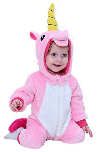 Doladola Mamelucos con Capucha para Bebé Niño Niña Mono Pelele Pijama Peleles para Dormir para bebés niña