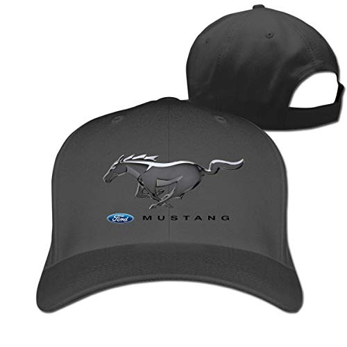 New Personalized Ford Mustang Auto Logo Fashion 100% Organic Cotton Peak Cap for Womens Casquette Natural,Sombreros y Gorras