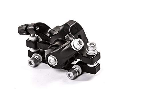 Bremssattel mit Belägen Adapter für Scheibenbremse mechanisch vorn 160mm oder hinten 140mm