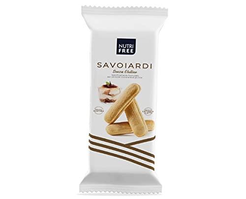 Nutrifree Galletas Italianas Savoiardi 'sin gluten'. Pack 6 X 150G.