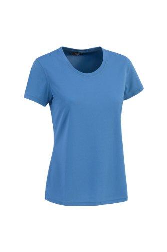 Maier Sports Lara Polo à Manches Courtes pour Femme 46 Bleu - Bleu