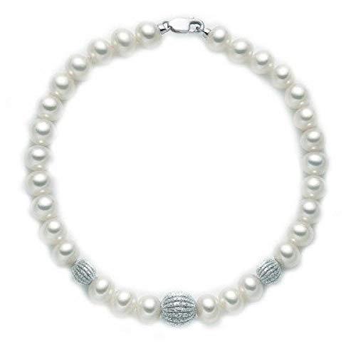 Miluna Bracciale Perle e Oro 18kt - PBR2536
