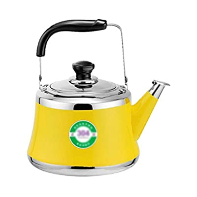 DFANCE Stove Top Kettle, Whistling Tea Kettle Teakettle Stove With Insulation Handle Suitable For All Hob/Stove Types Including Induction Top Stainless Steel Durable