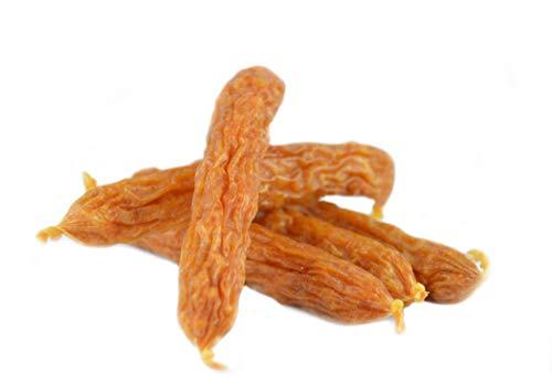 Maced Hundesnack Wurst mit Geflügel und Reis 12cm 60g, Reis ist eine große Energie- Quelle Hundeleckerli 10er Pack (10 x 60 g)
